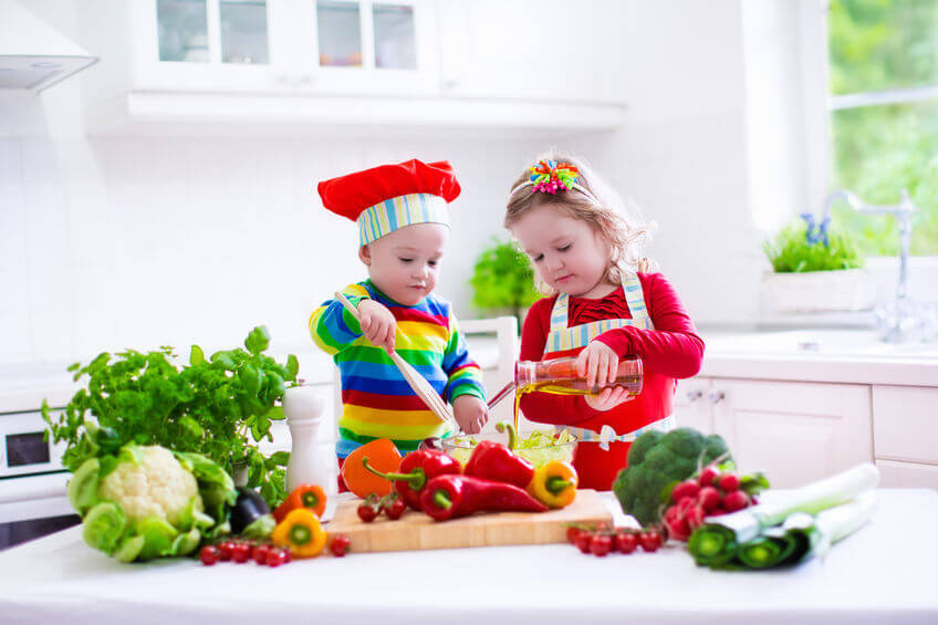 Gesunde Ernährung mit Kindern
