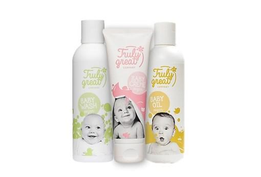 Truly Great Trio -Baby Naturkosmetik