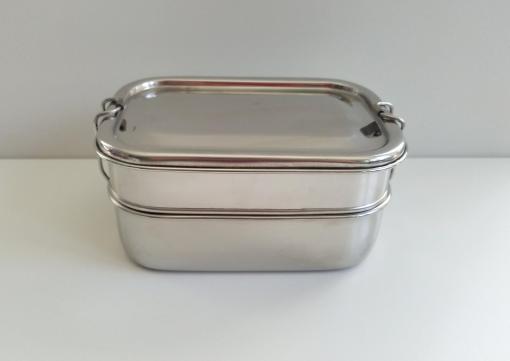 Edelstahl Lunchbox - plastikfrei, nachhaltig ohne Weichmacher, geschirrspülergeeignet