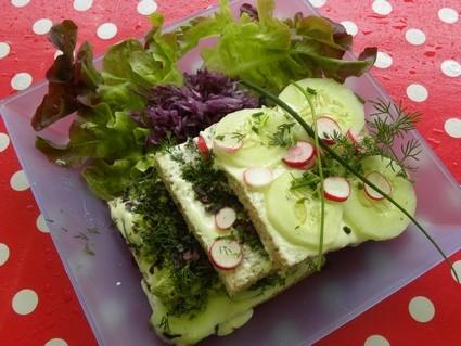 La recette. Gâteau sandwich à la scandinave.