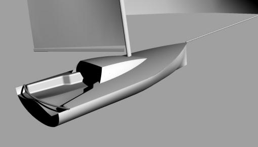 Il se lance dans la construction d'un voilier bio-sourcé