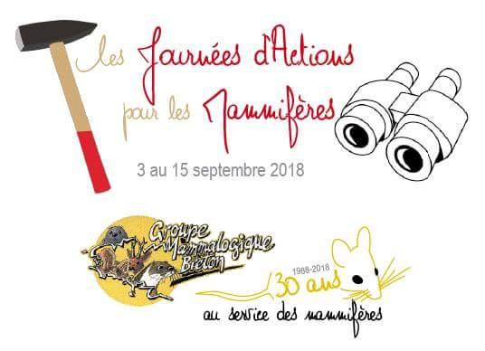 Le Groupe Mammalogique Breton fête ses 30 ans de protection et d'étude des mamifères sauvages.
