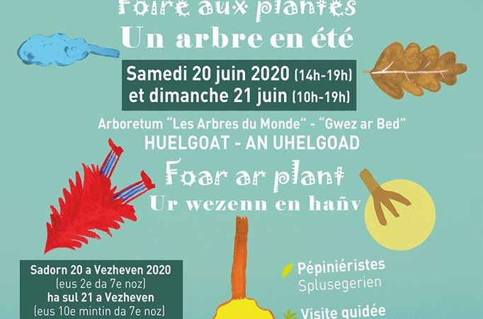 L'idée sortie. Foire aux plantes ce week-end à l'Arboretum des Arbres du Monde à Huelgoat