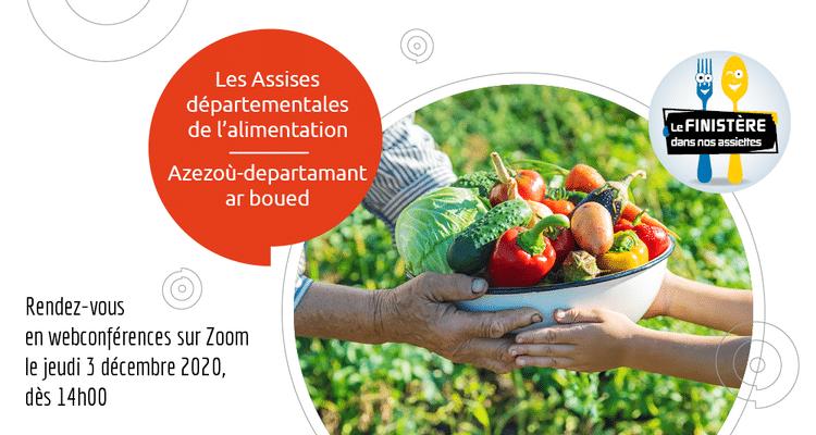 Finistère: Les Assises de l'Alimentation sur la toile le jeudi 3 décembre
