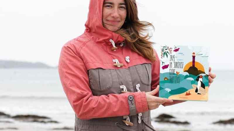 Julie sensibilise les enfants à la protection des océans