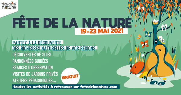 Fête de la nature 2021 | Programme des actions de Bretagne Vivante