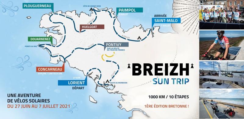 Breizh Sun Trip: le rallye écolo 100% vélo solaire