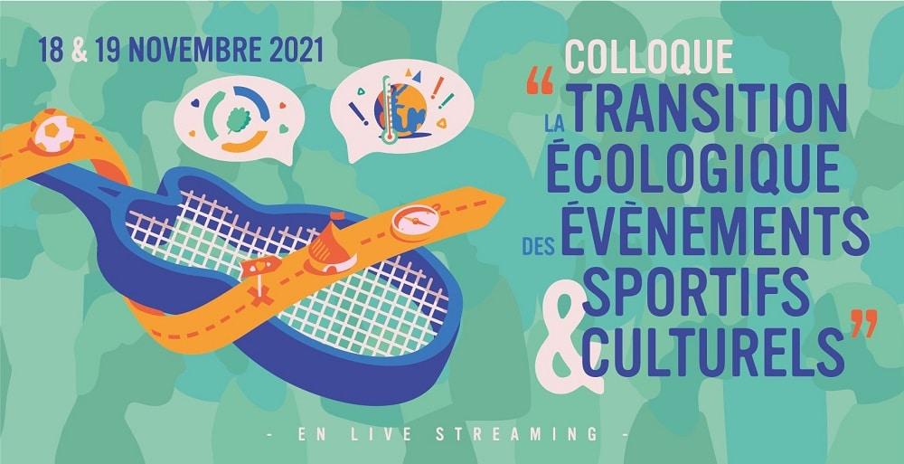Transition écologique/événements sportifs et culturels – colloque en ligne