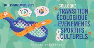 Transition écologique/événements sportifs et culturels - colloque en ligne