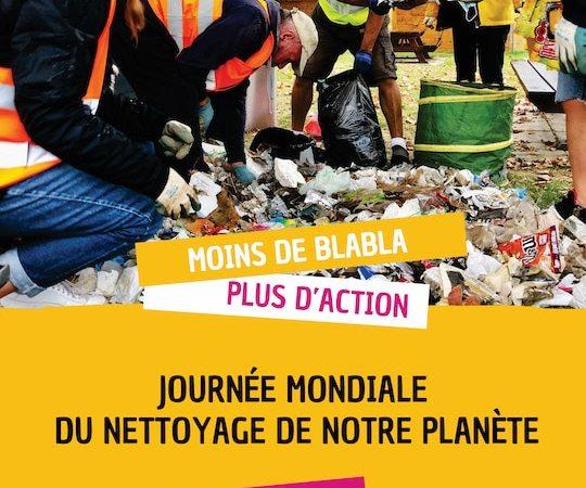 World Clean Up Day: samedi, on fait la chasse aux déchets!