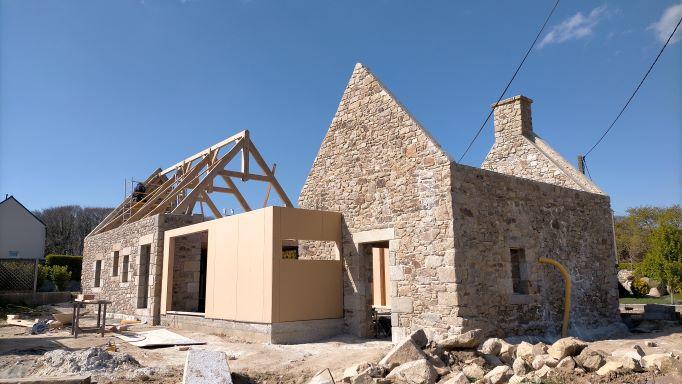 Un week-end breton sous le signe de l'éco-construction et de l'habitat alternatif