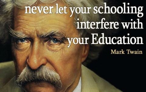 Twain on Education
