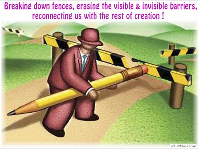 erasing barriers