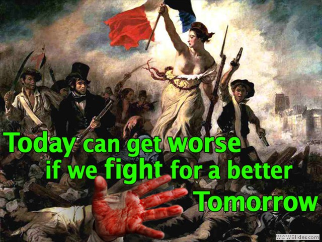 Fighting for a better Tomorrow