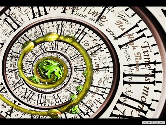 Time is eternal Life