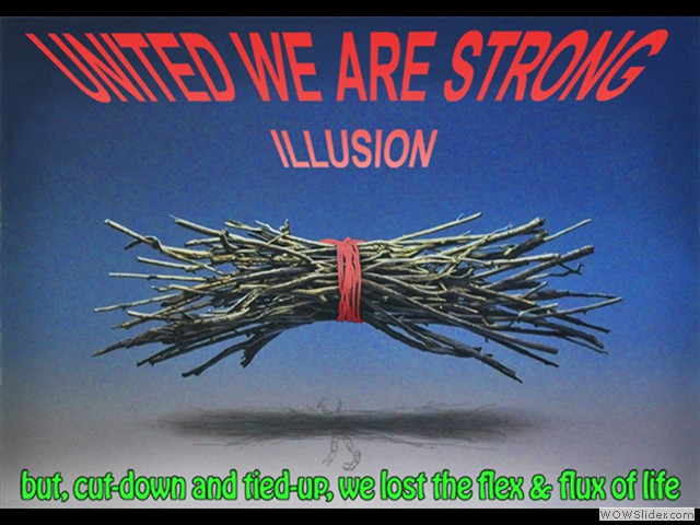 United we are strong