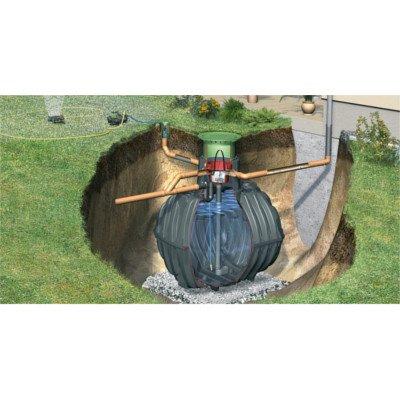 Graf Carat Regenwassertank und Zubehör Komplett-Paket Garten-Jet