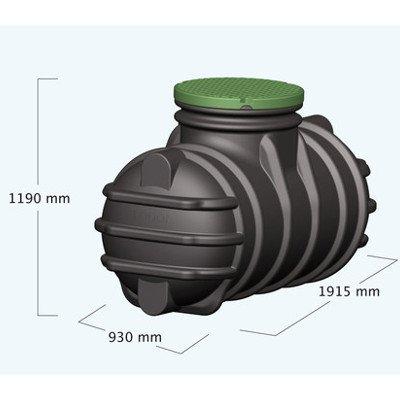 Graf Regenwassertank Erdtank