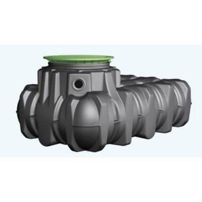 Graf Platin unterirdischer Regenwassertank
