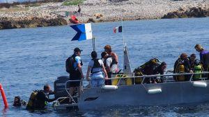 Charte de qualité marine - respectons les distances de sécurité