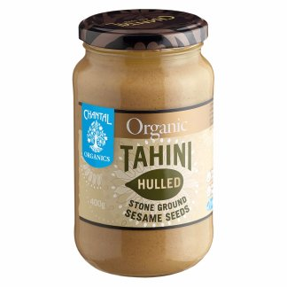 one jar of chantal organic stone ground tahini