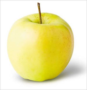 one organic apple golden
