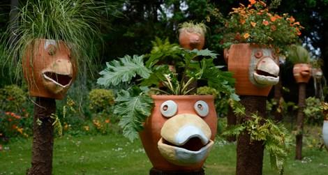 jardin des plantes œuvres de Claude Ponti