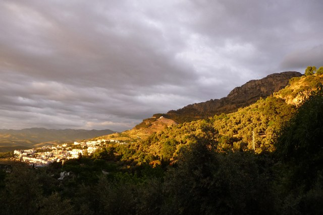 Cazorla-avondlicht