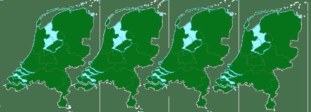 kaart-van-4x-NL-helemaal-bos