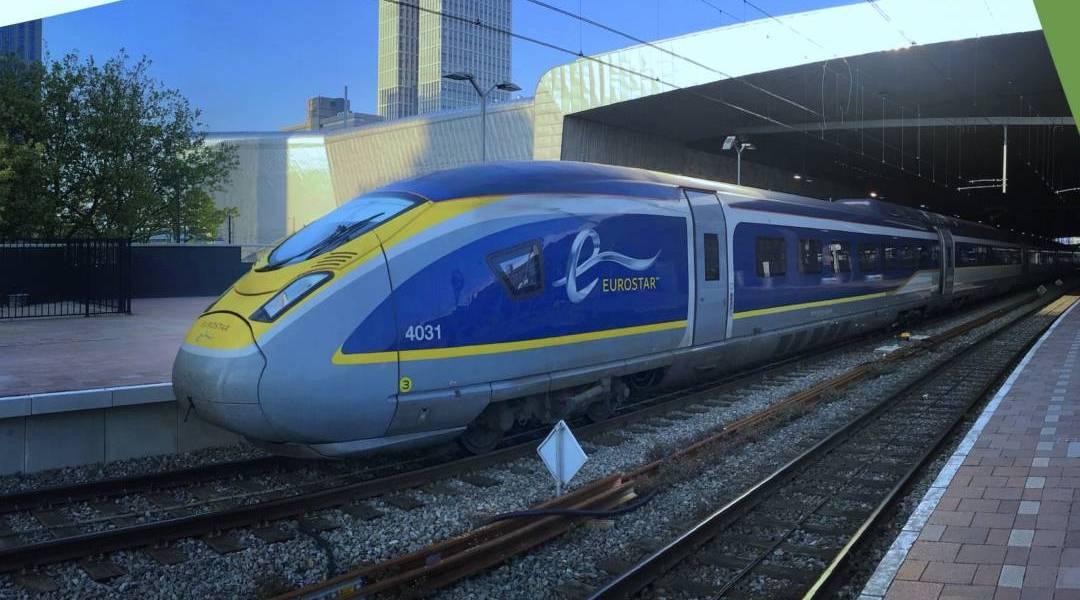 Trein is de oplossing voor overvol Schiphol
