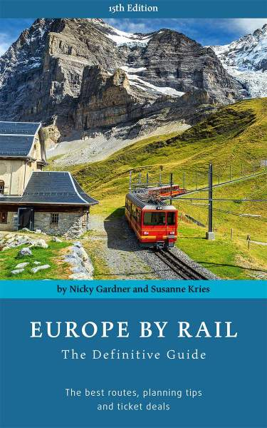 Europa per trein (Europe by rail) reisgids