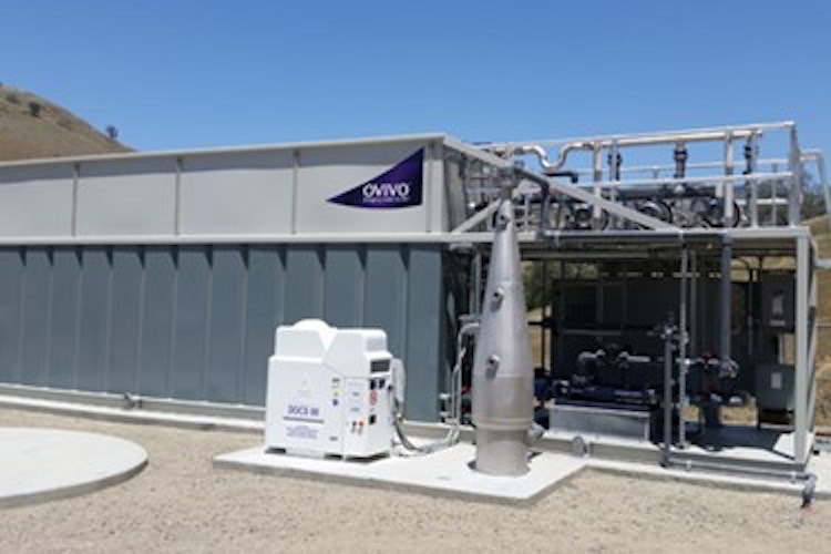 Ovivo ECO2 SuperOxygenation Installation