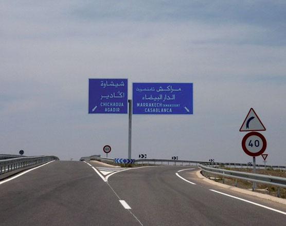 Autoroutes du Maroc