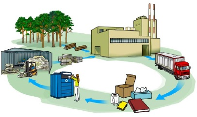 Reciclaje de papel proceso y beneficios medioambientales
