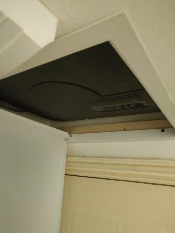 Aereco fan in ceiling