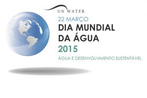 Logotipo do Dia Mundial da Água 2015