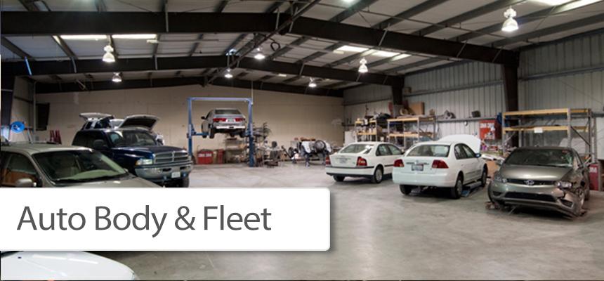 Auto Body - Fleet Hail Repair & Dent REmoval Service