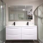 Mirror Cabinet 1200mm With 3 Mirror Doors Eco Bathroom Solutions