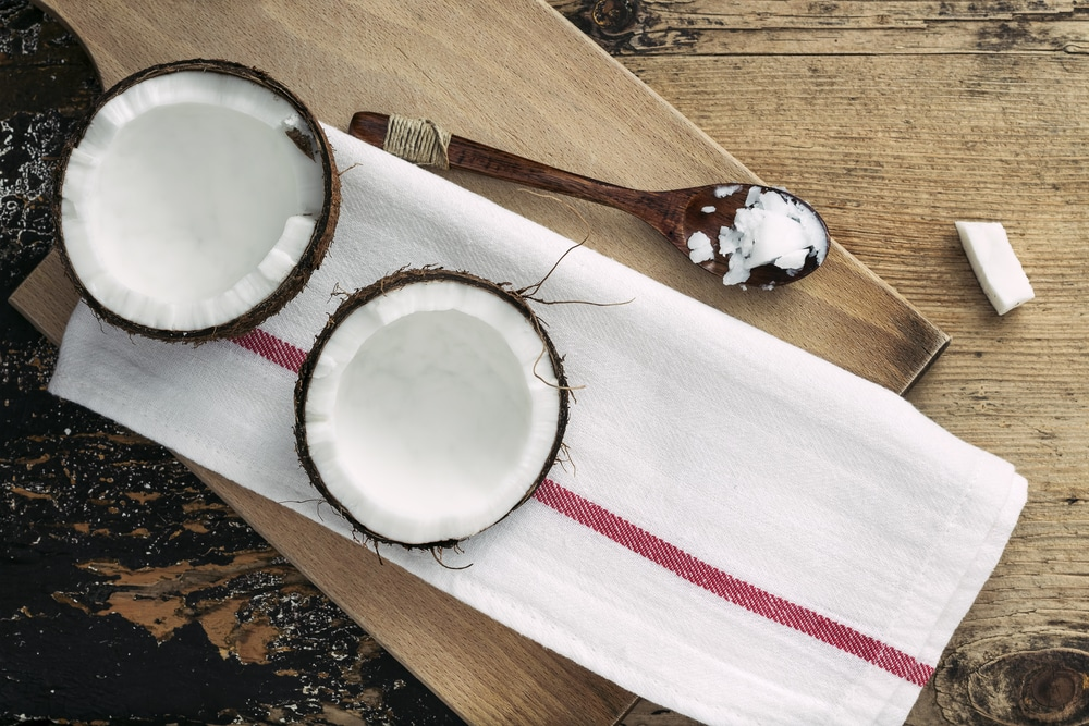 natural beauty product coconut oil