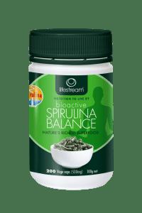 Lifestream_Certified Organic_Bioactive_Spirulina_Balance_500mg_$25.50RRP