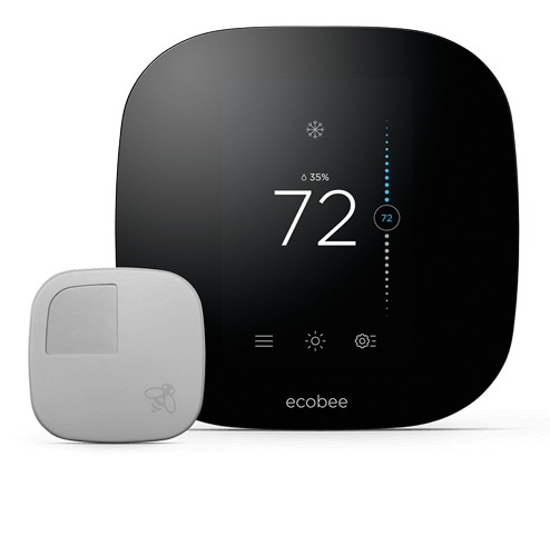 The smarter wi-fi thermostat<br> with remote sensors