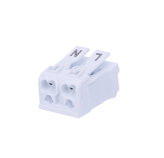 2 Way Push Wire Connector