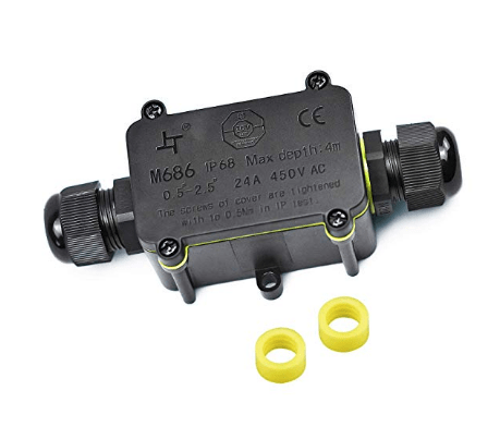 2 way electrical junction box
