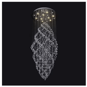 Floating Crystal Chandelier
