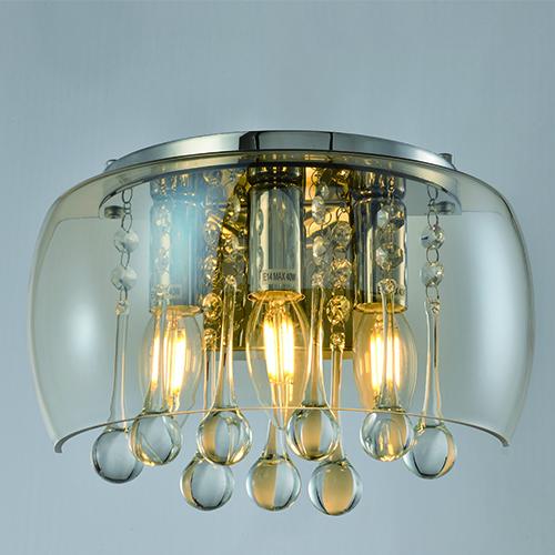 Indoor Lighting Wall Lights CP22 | AMBER GLASS WALL LIGHT