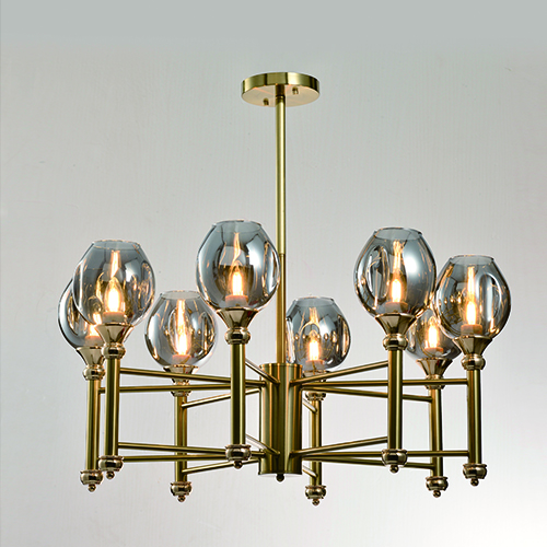 Indoor Lighting Pendants CP37 | GOLD & DARK/SMOKE GLASS – COMING SOON