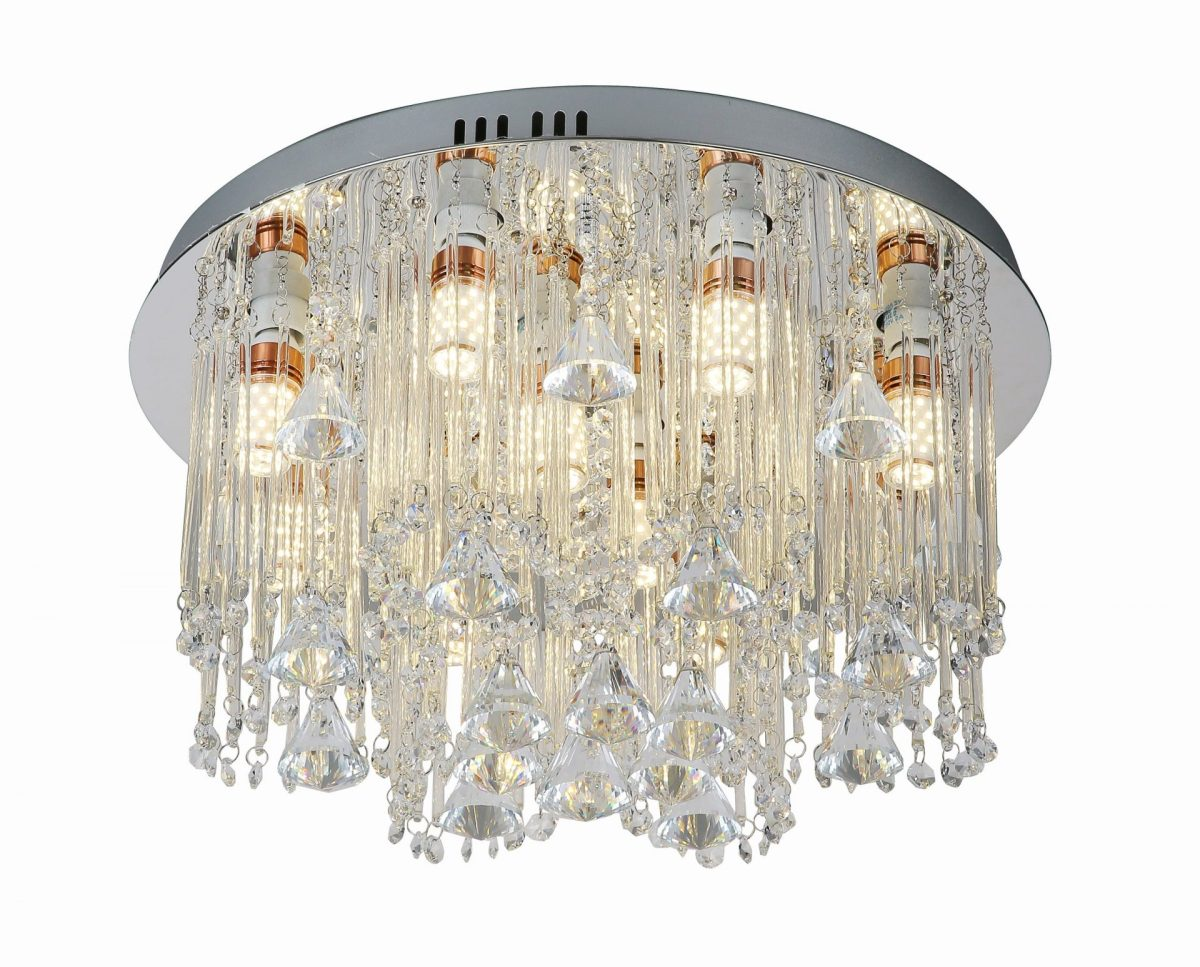 beaded ceiling chandelier