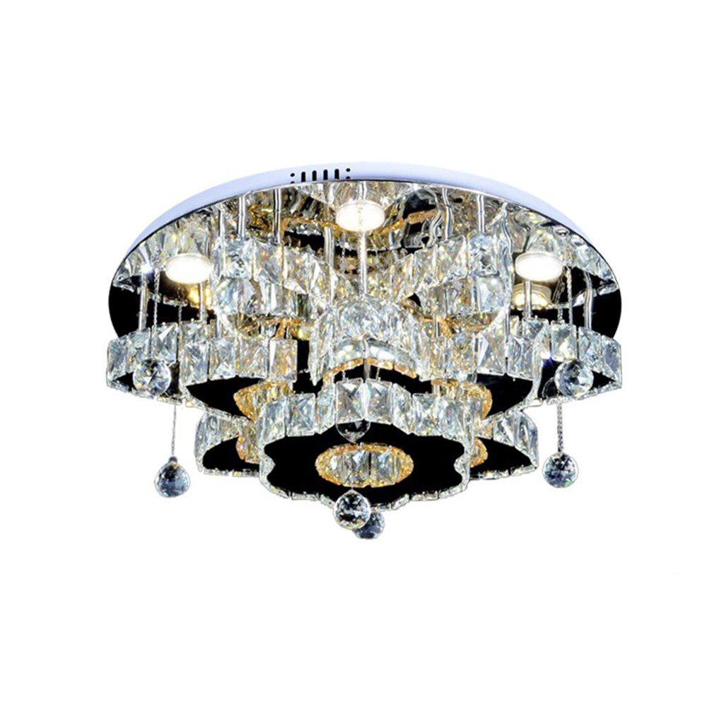 Flushed crystal Chandelier