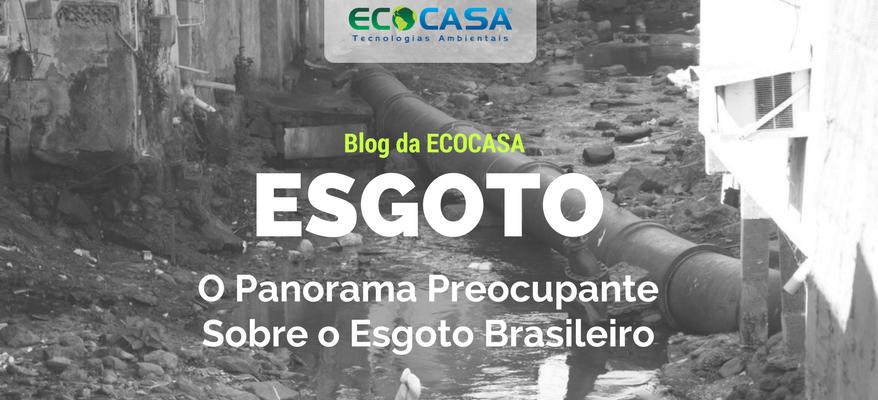 Tratamento de Esgoto - Blog da ECOCASA