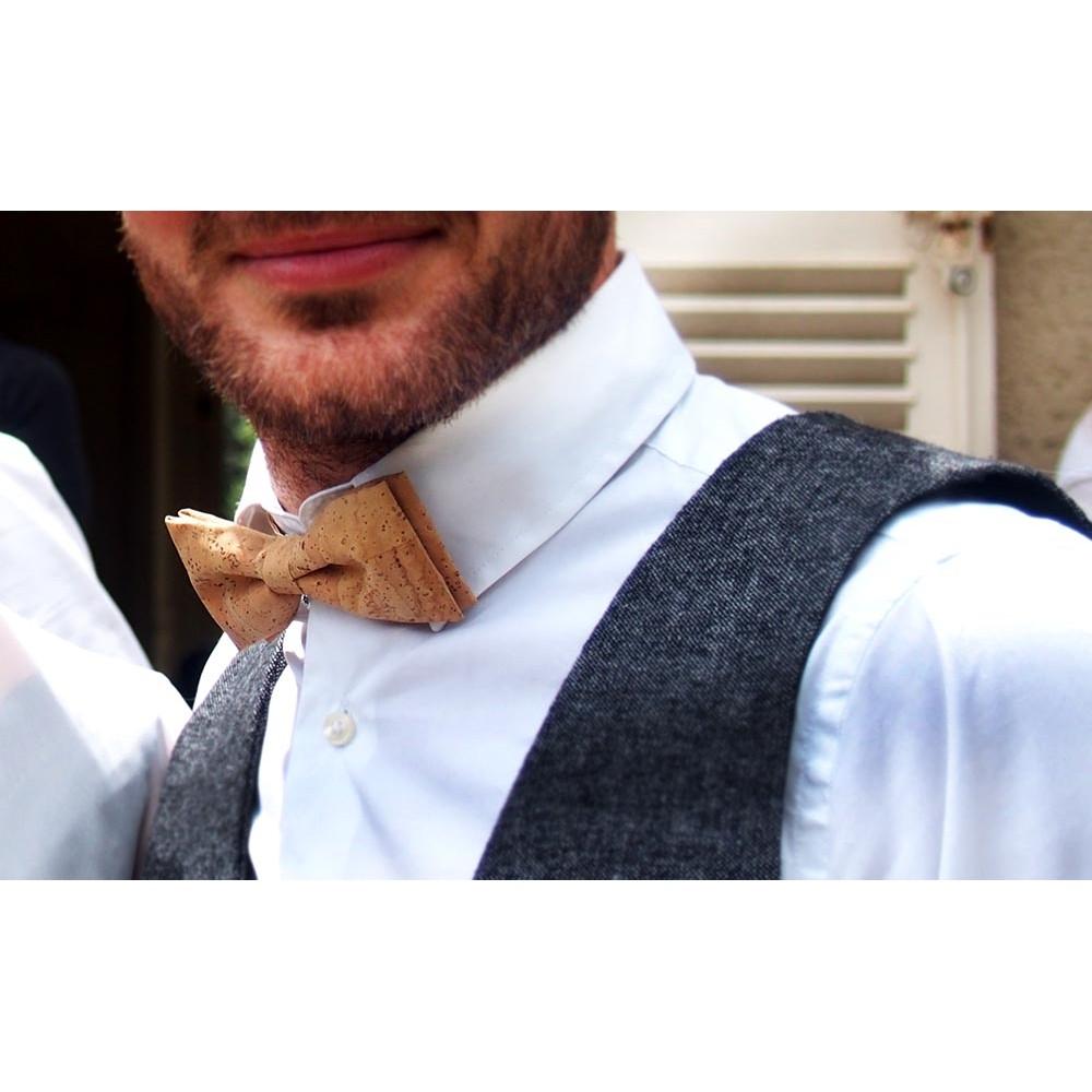 nouvelle arrivee boutique de sortie 100% qualité garantie Noeud papillon en liege accessoire original pour homme